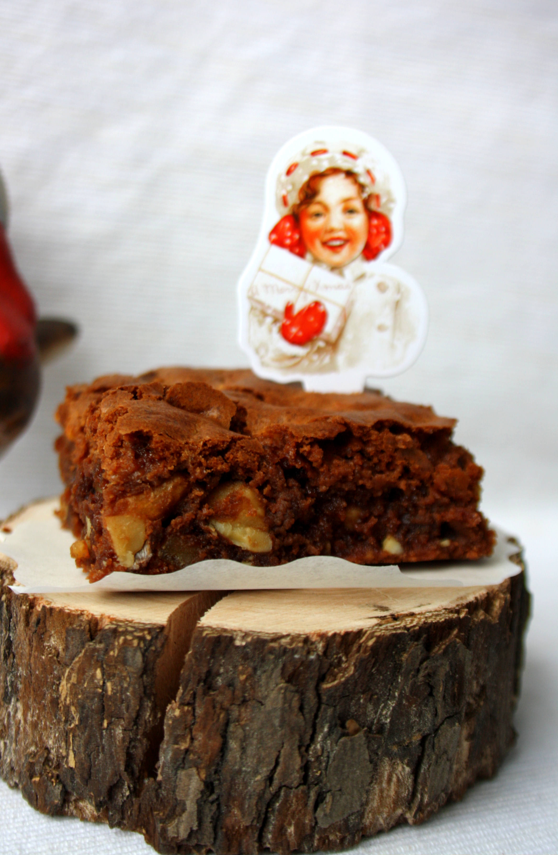 Brownies mit Aprikosen // Brownies with apricots by http://babyrockmyday.com/brownies-mit-apricosen/
