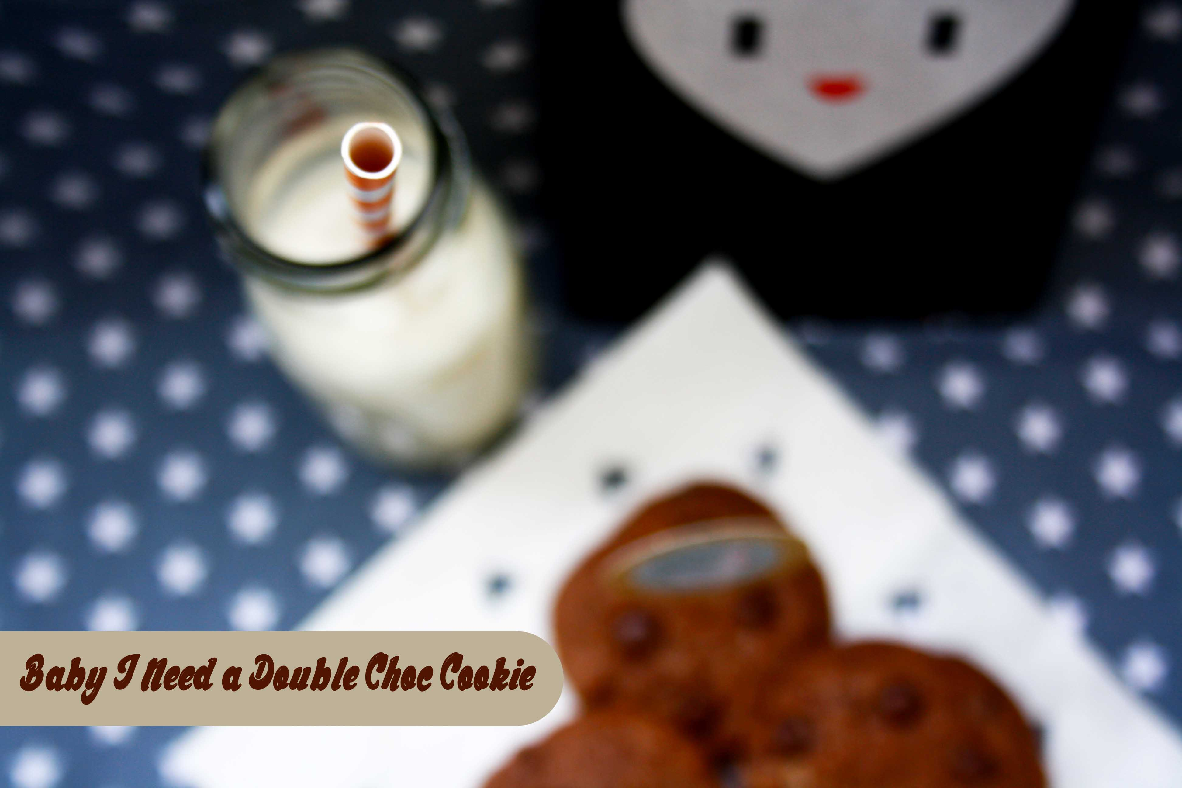 Double Choc Cookies by http://babyrockmyday.com/double-choc-cookies/