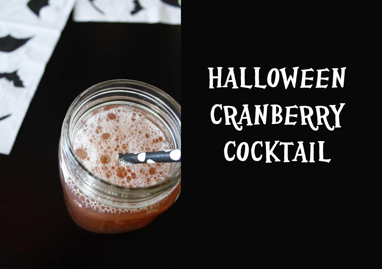 Halloween für die Großen mit einem Cranberry-Drink by http://babyrockmyday.com/halloweendrink/