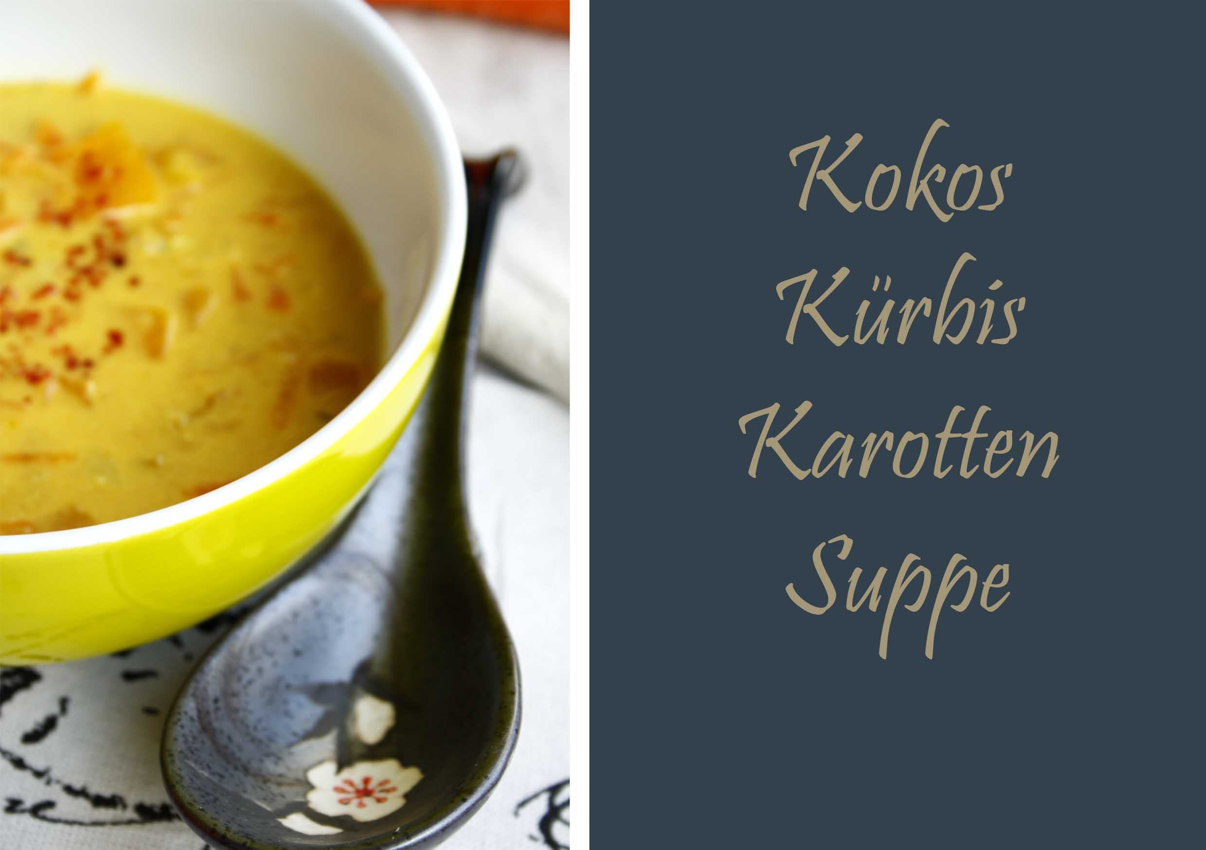 Curry Kokos Kürbis Suppe