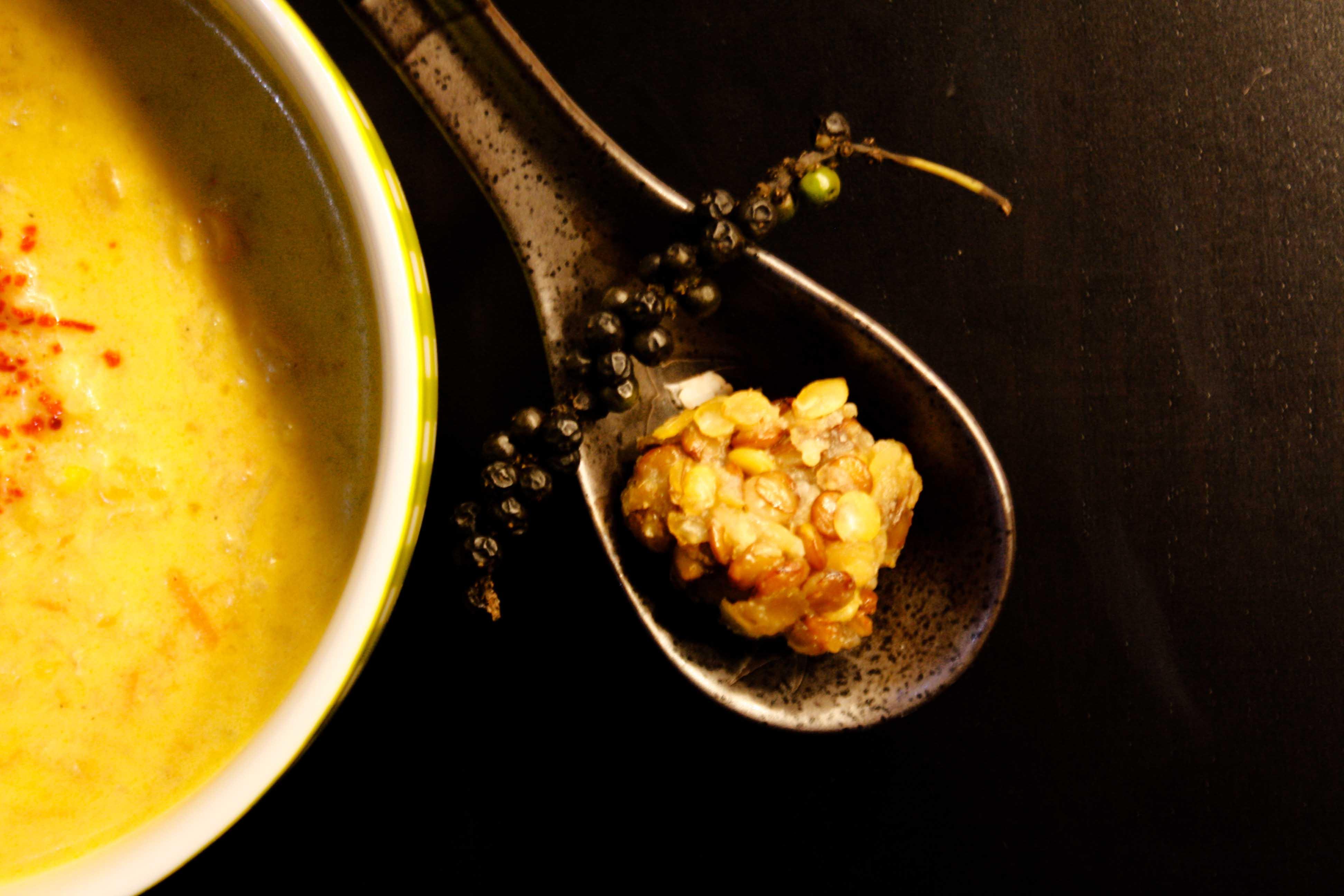 Thai Suppe mit Linsen / Thai Soup by https://babyrockmyday.com/thai-suppe/