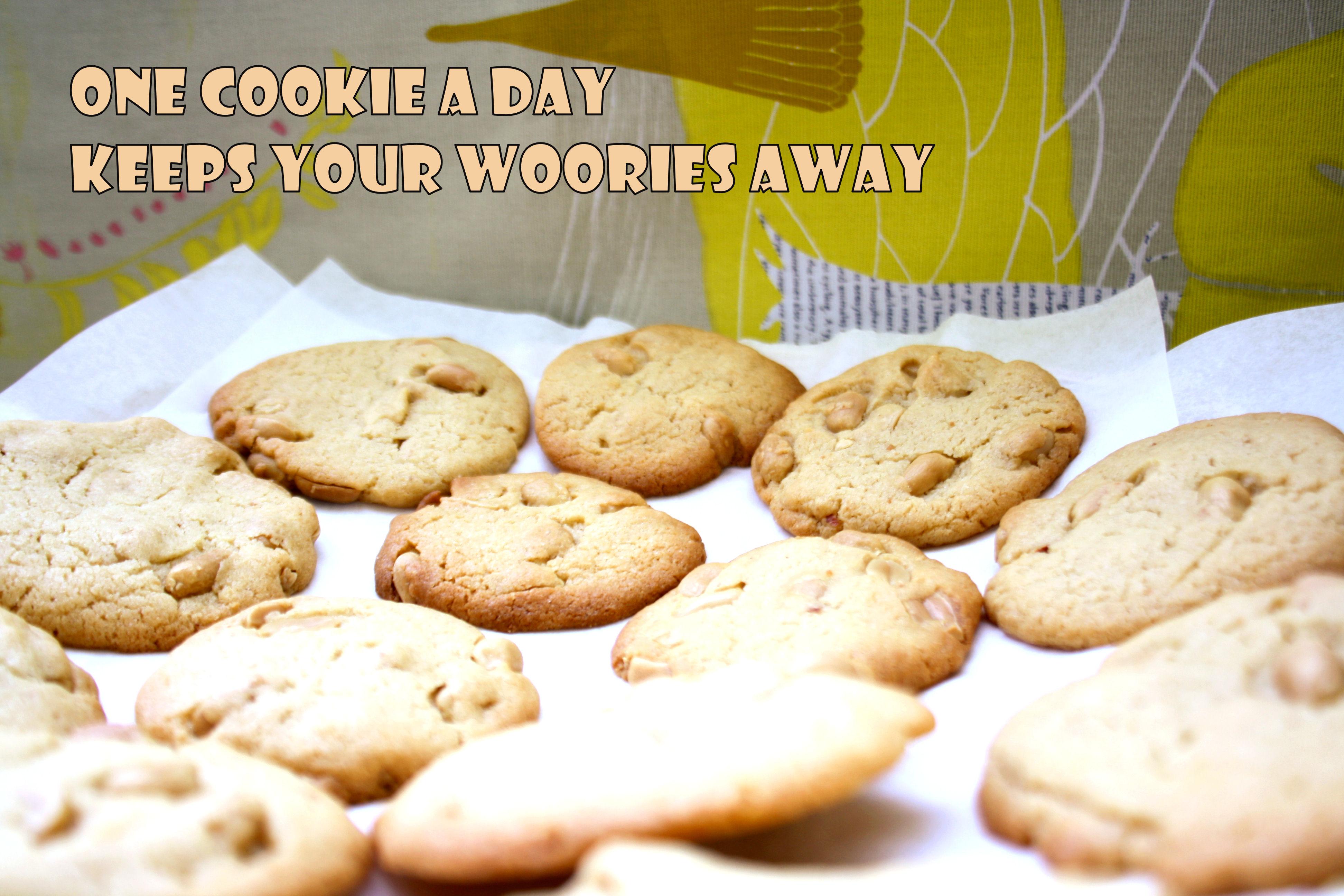 Peanut-Cookies by http://babyrockmyday.com/peanut-cookies/