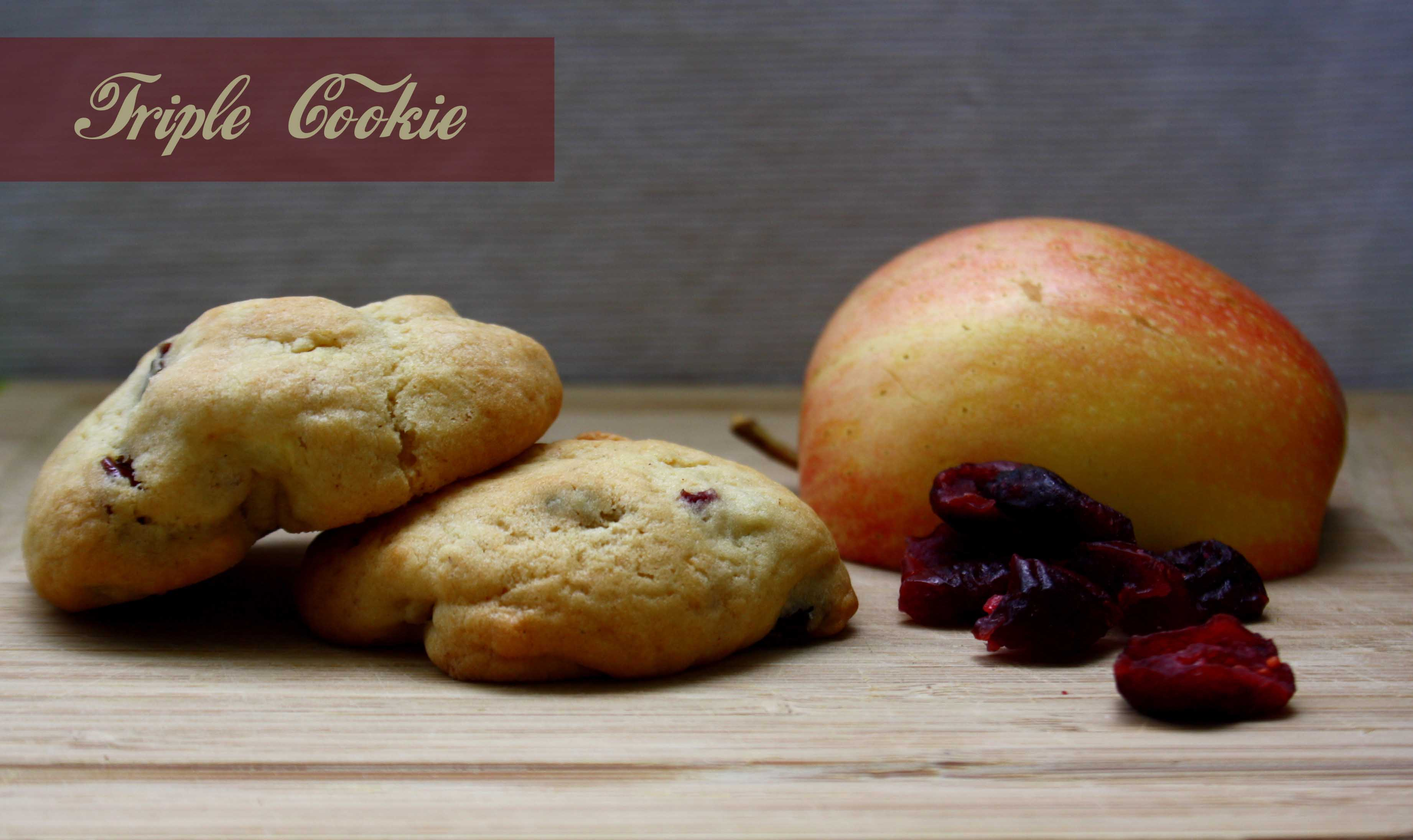 Apfel Cranberry Cookies by http://babyrockmyday.com/apfel-cranberry-cookies/