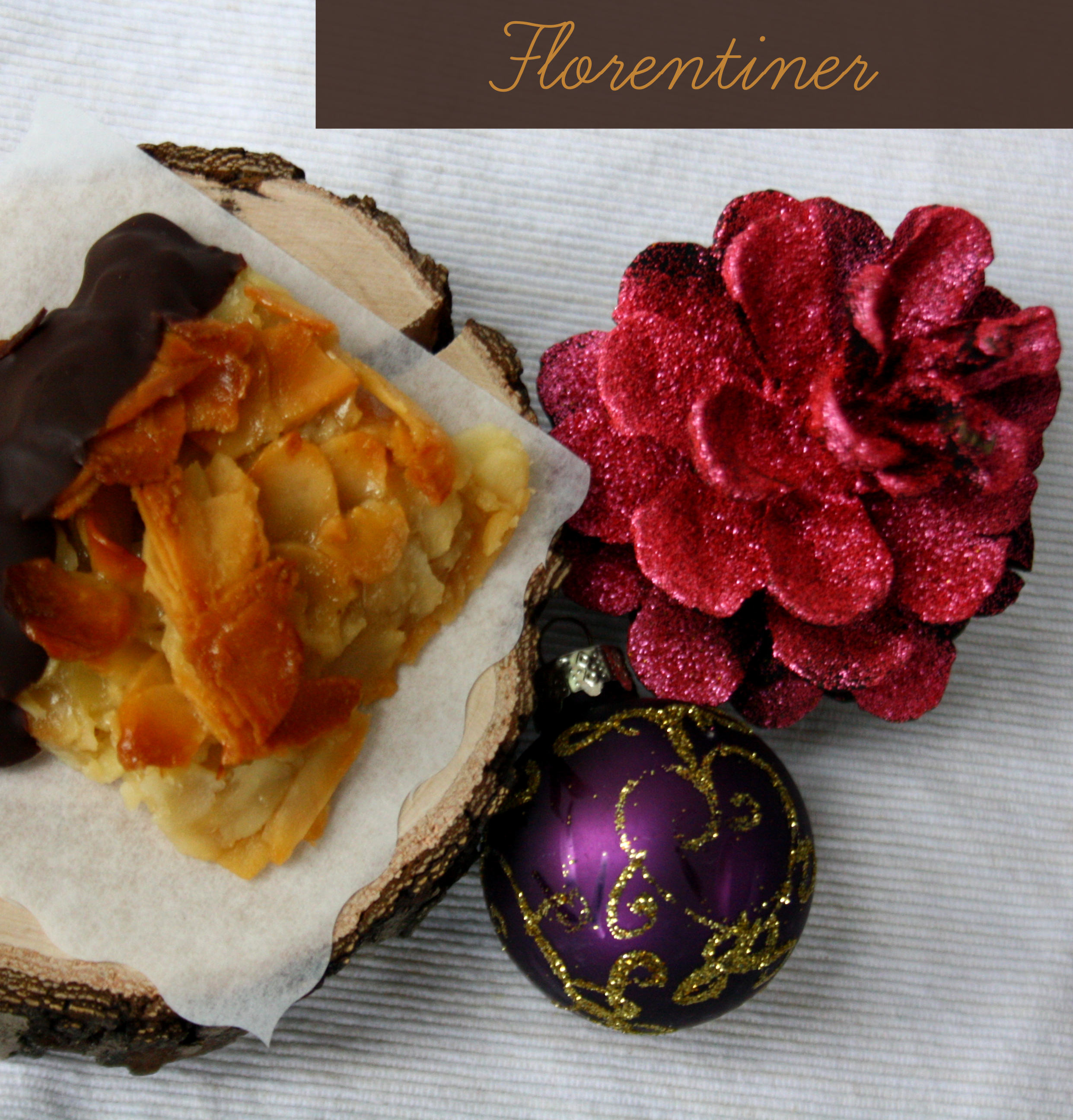 Mandel-Florentiner // german sweets with almond and honey by http://babyrockmyday.com/mandel-florentiner/