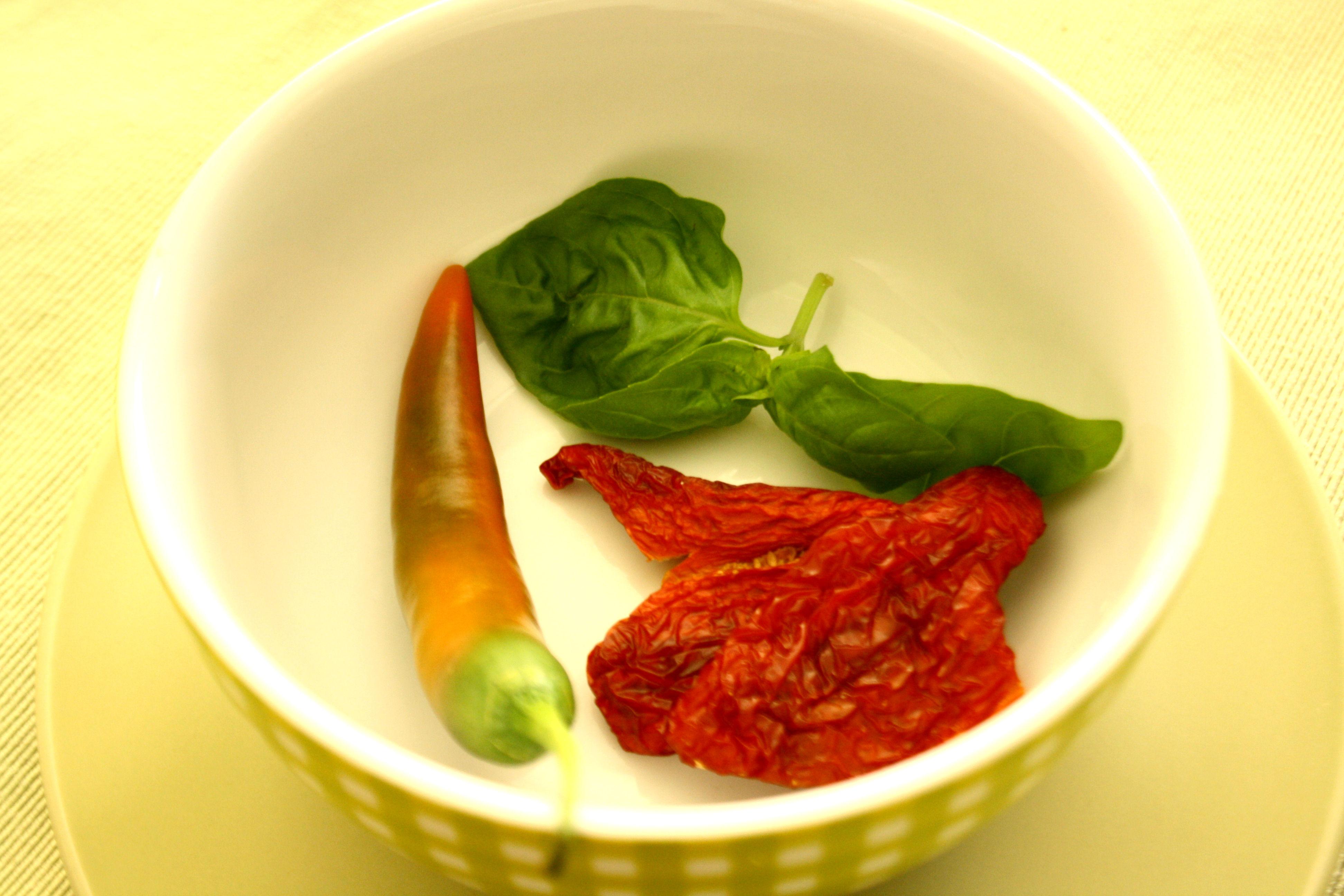 Post aus meiner Küche Basilikum-Tomate-Ciabatta