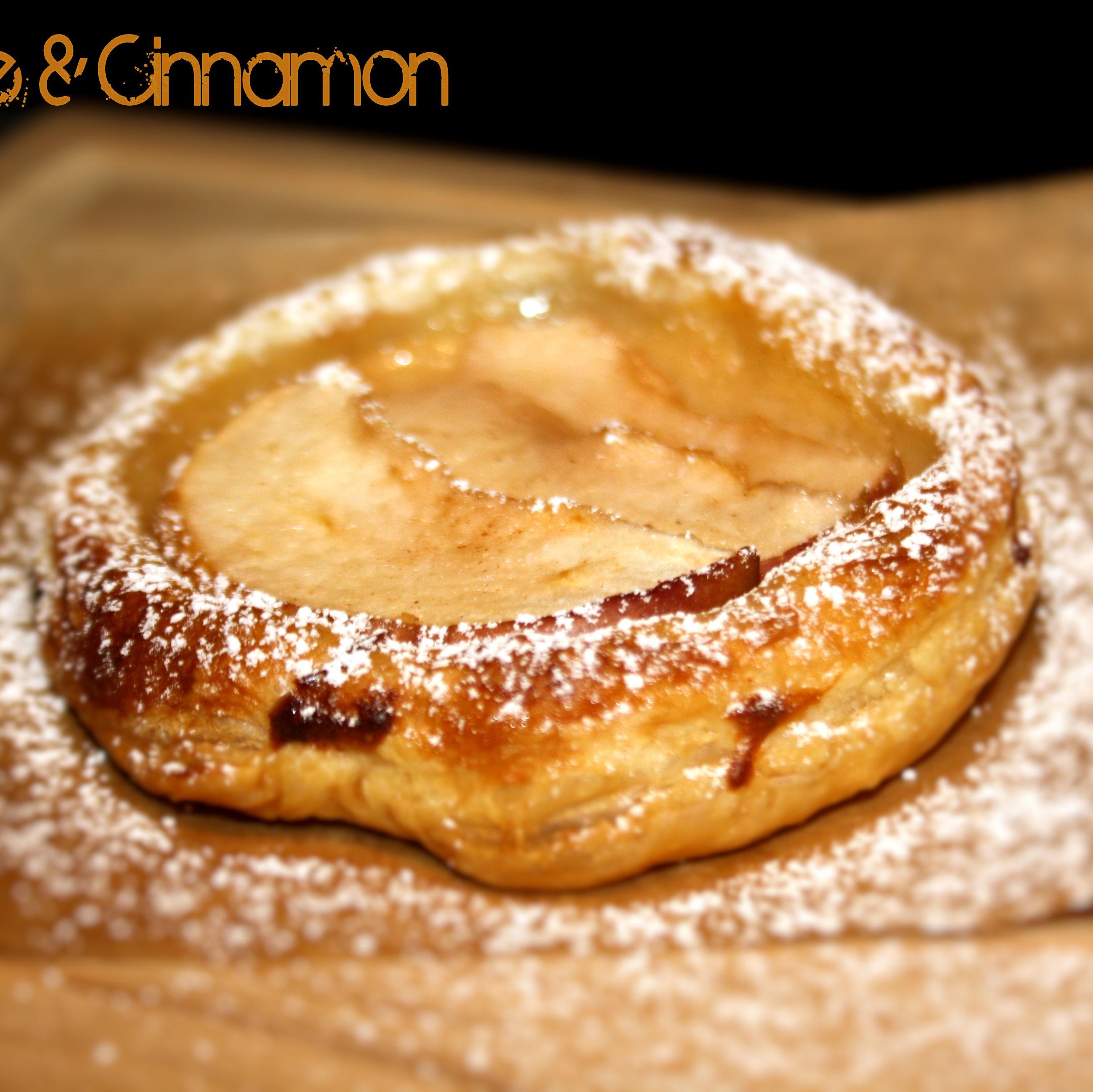 Apfel-Vanille-Tartelletes oder auf die schnelle Apfel trifft Zimt