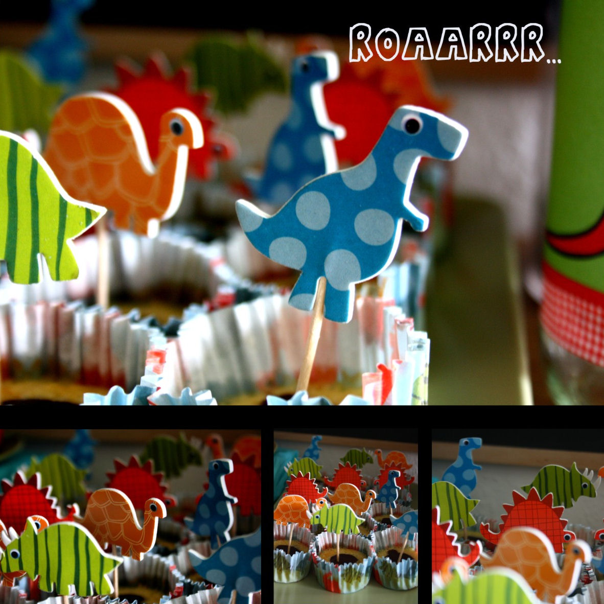 Dino-Party by http://babyrockmyday.com/little-dino-party/