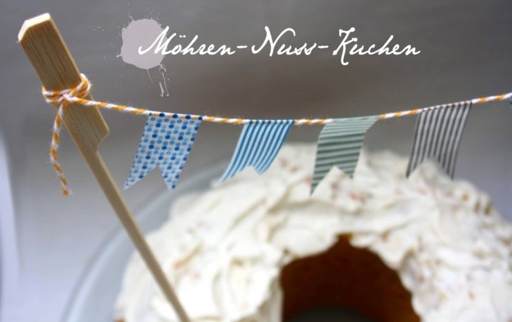 Karotten-Nuss-Kuchen // Carrot Nut Cake by http://babyrockmyday.com/karotten-nuss-kuchen/
