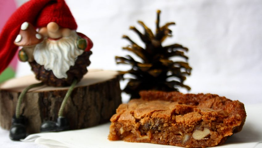Winter Blondies by