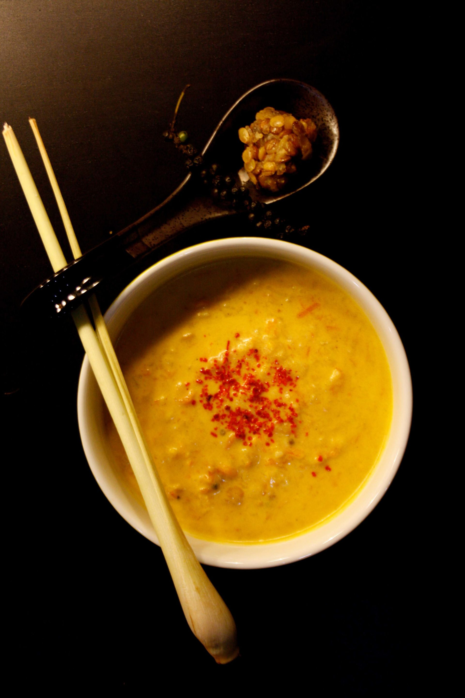 Thai Suppe mit Linsen / Thai Soup by https://babyrockmyday.com/thai-suppe/