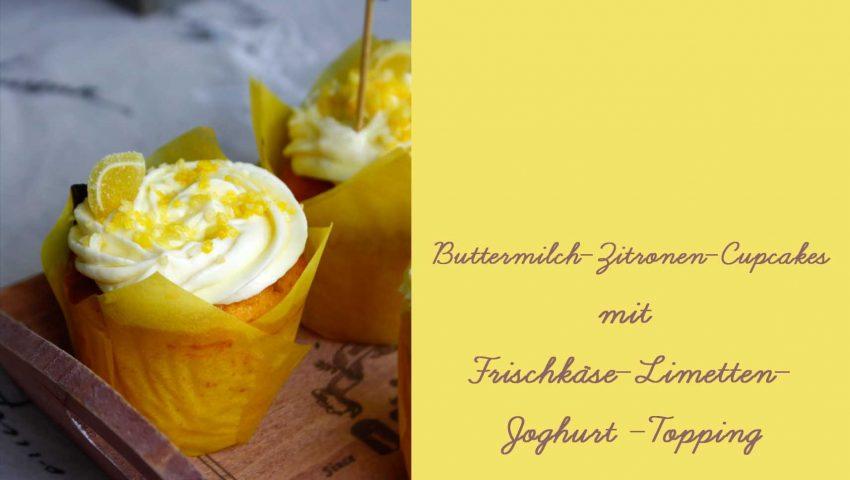 Zitronen Cupcakes // Lemon Cupcakes by http://babyrockmyday.com/zitronen-cupcakes/