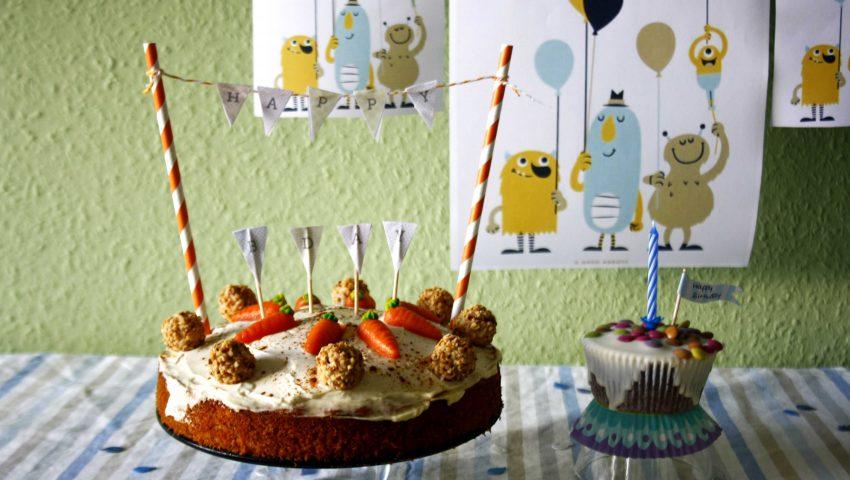 Möhrenkuchen // Carnot Cake http://babyrockmyday.com/mohrenkuchen-v…eder-ausgraben/