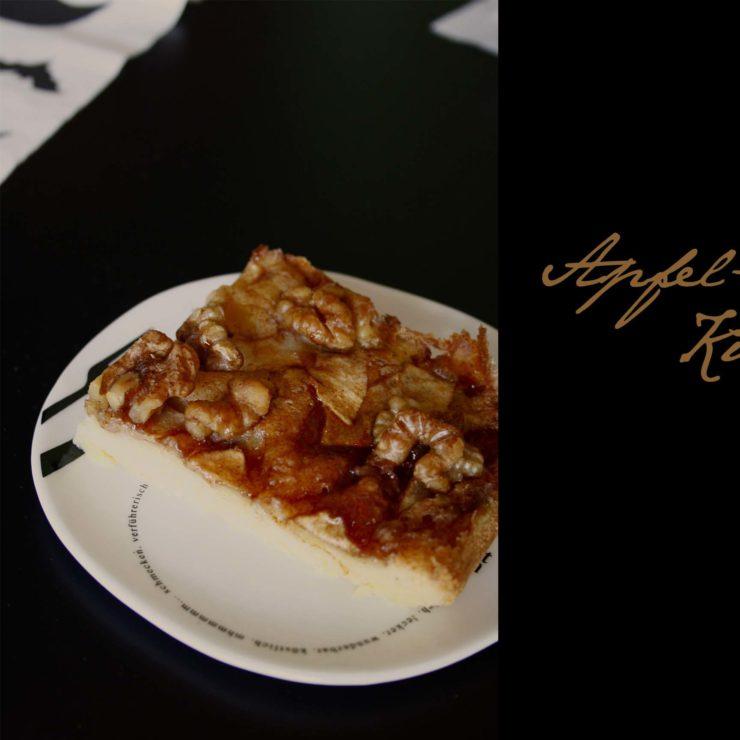 Apfel Walnuss Kuchen mit Sirup babyrockmyday