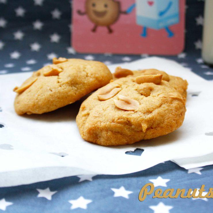 Erdnuss-Cookies by http://babyrockmyday.com/erdnuss-cookies-frei-nach-paul/