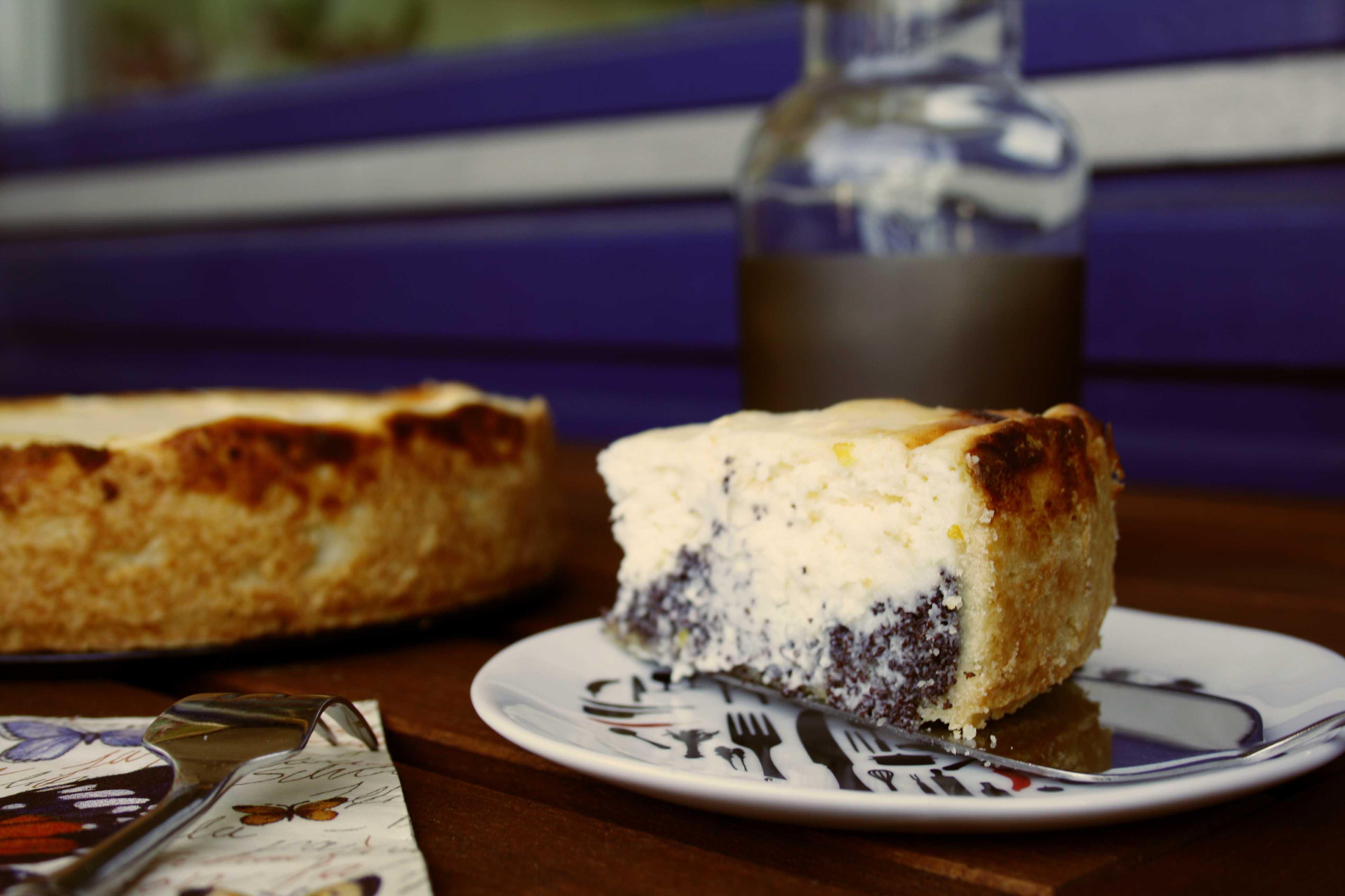 Mohn-Käse-Kuchen