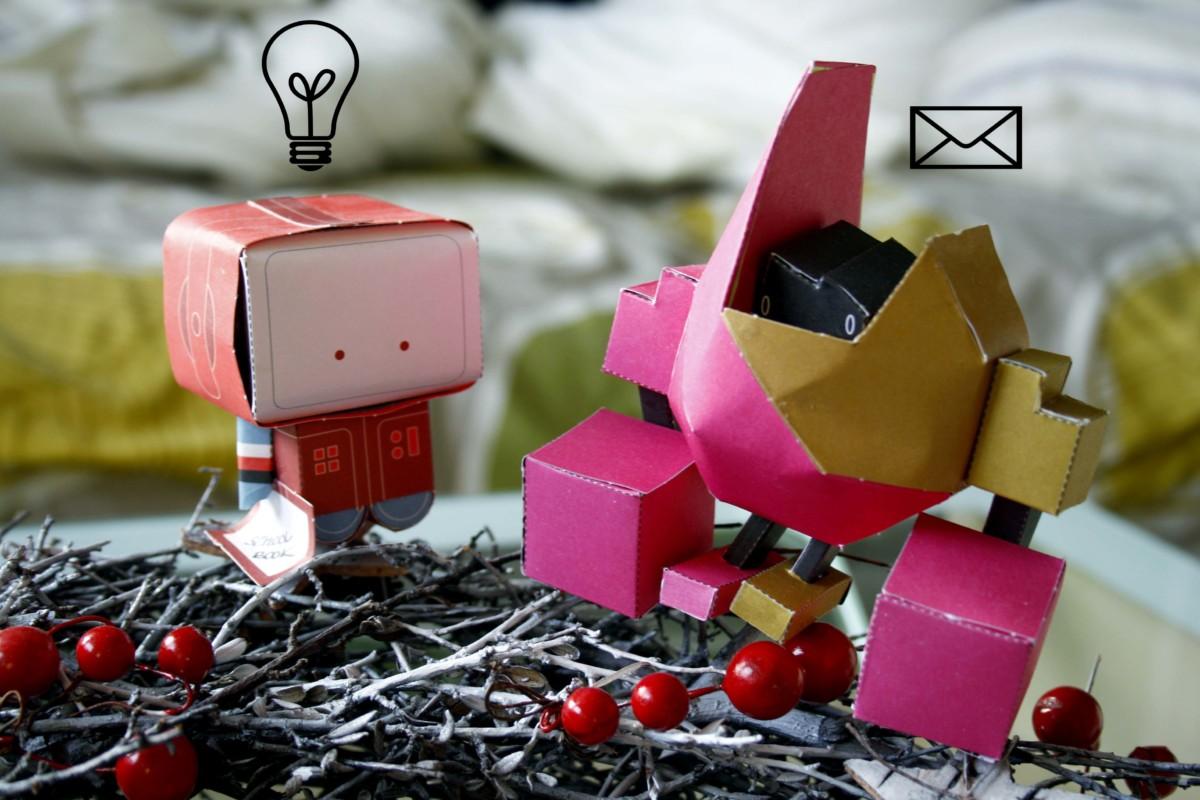 Paper Robots babyrockmyday nick knite