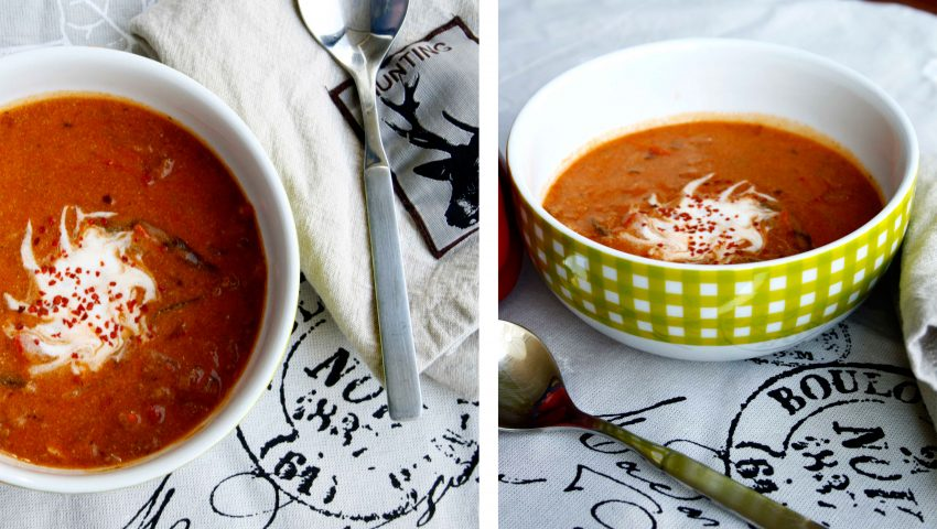 Sauna-Suppe // Soup by http://babyrockmyday.com/sauna-suppe/