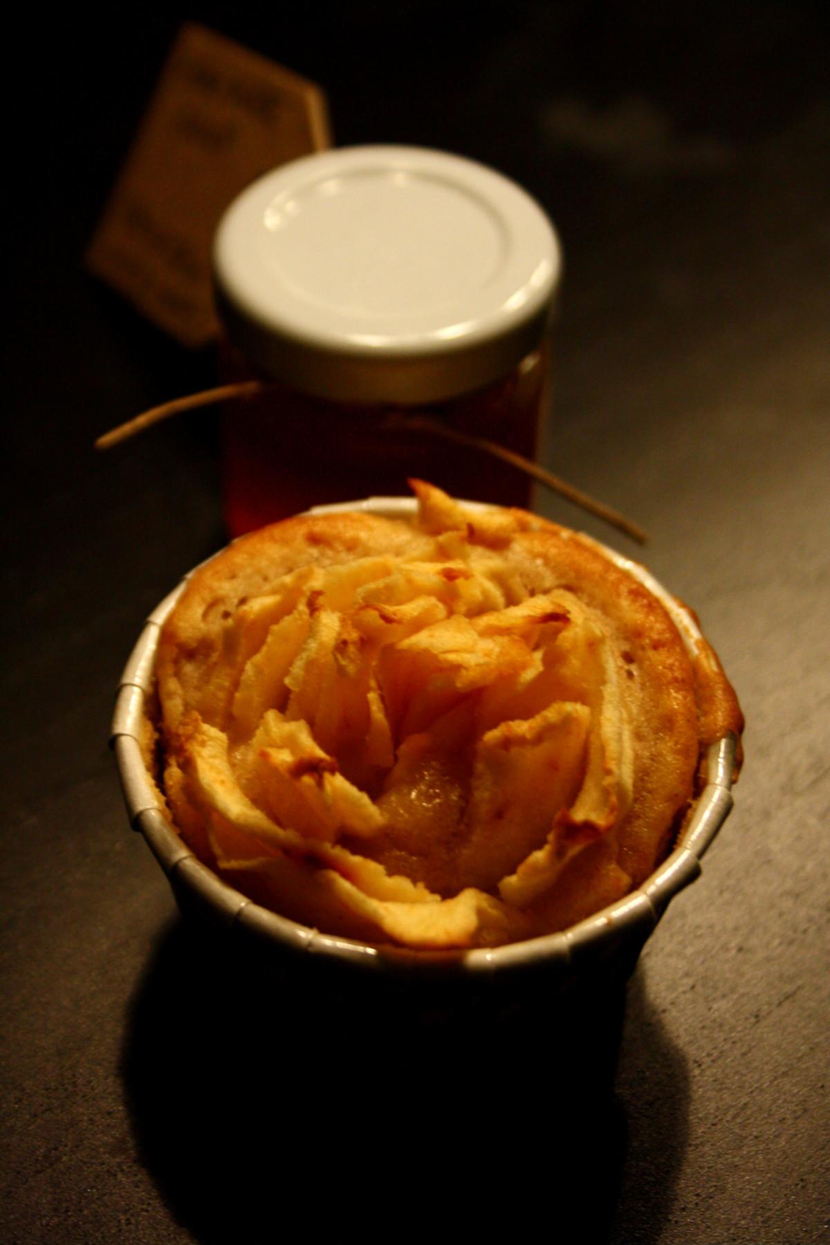 Bratapfelmuffins mit Sirup