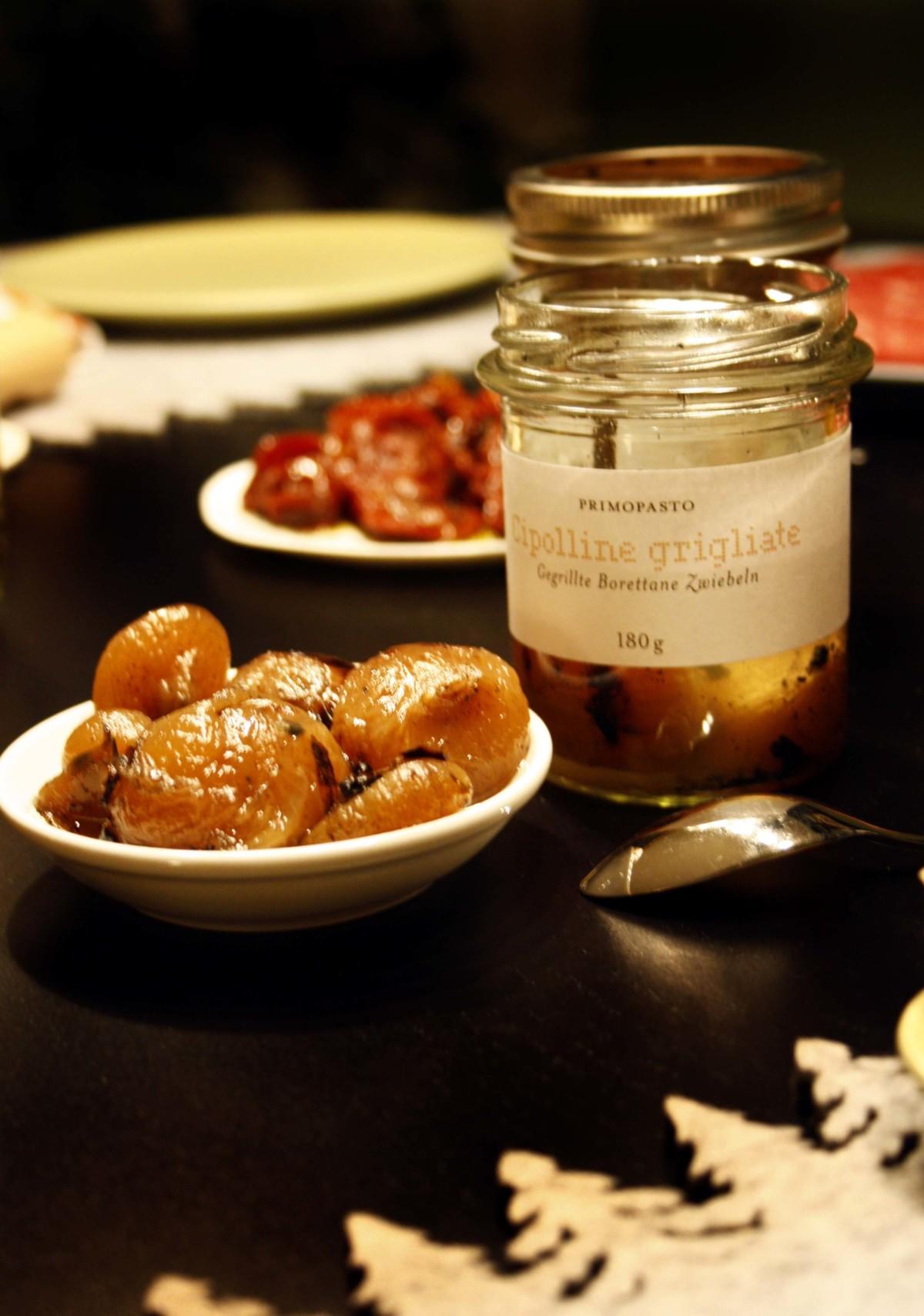 Gustini Anti-Pasti eingelegte Zwiebeln