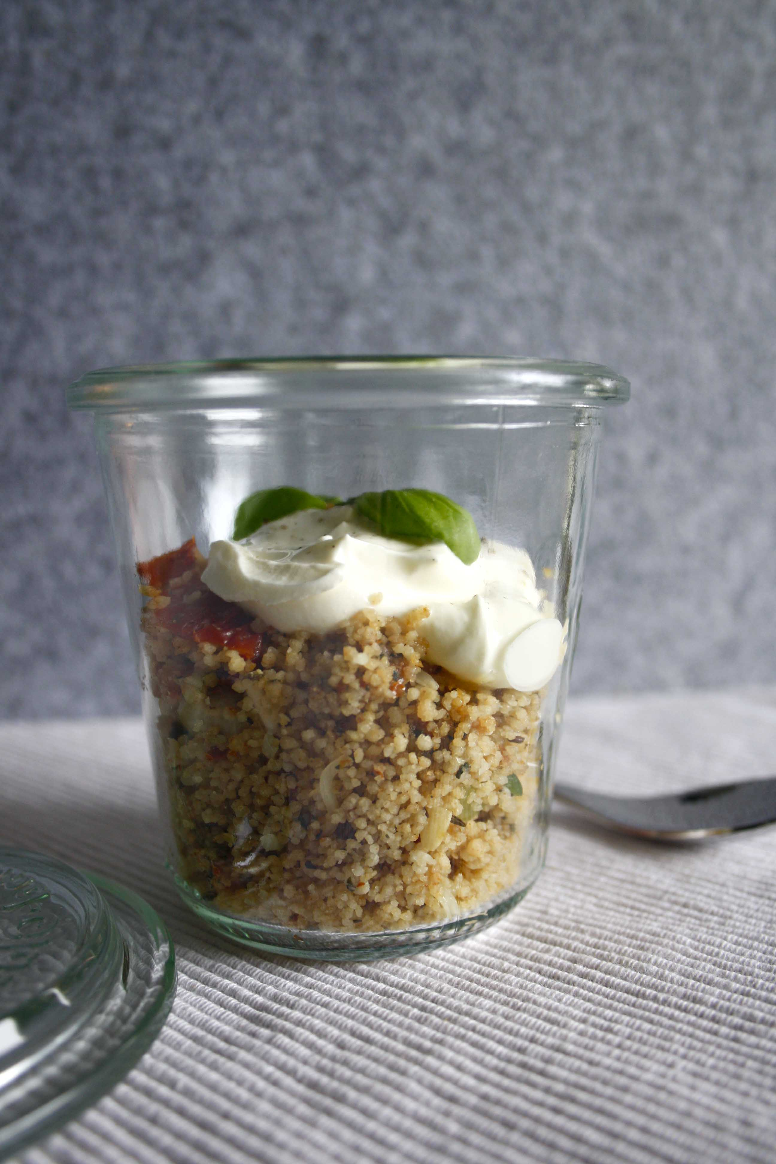 Pesto CousCous