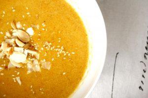 Ingwer Orangen Suppe