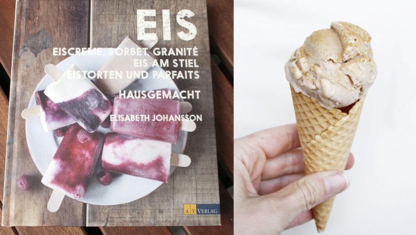 Karamell-Eis // Caramell Icecream by http://babyrockmyday.com/karamell-eis/