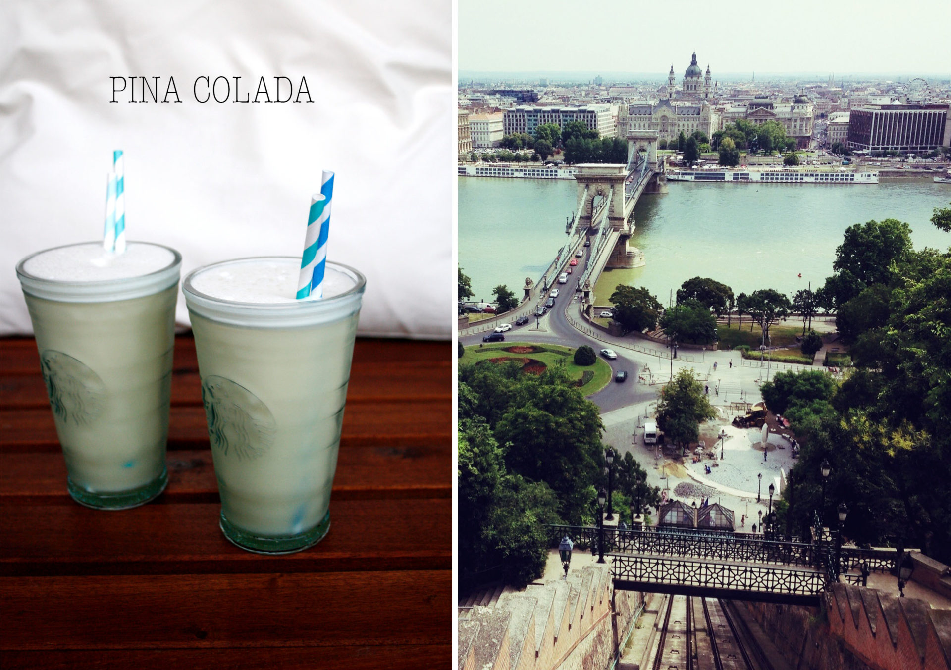 Pina Colada Cocktail Budapest