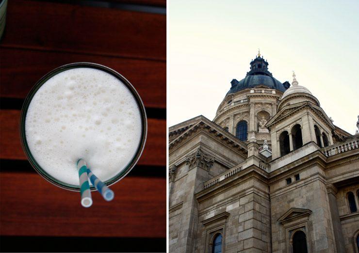 Pina Colada Budapest Cocktail