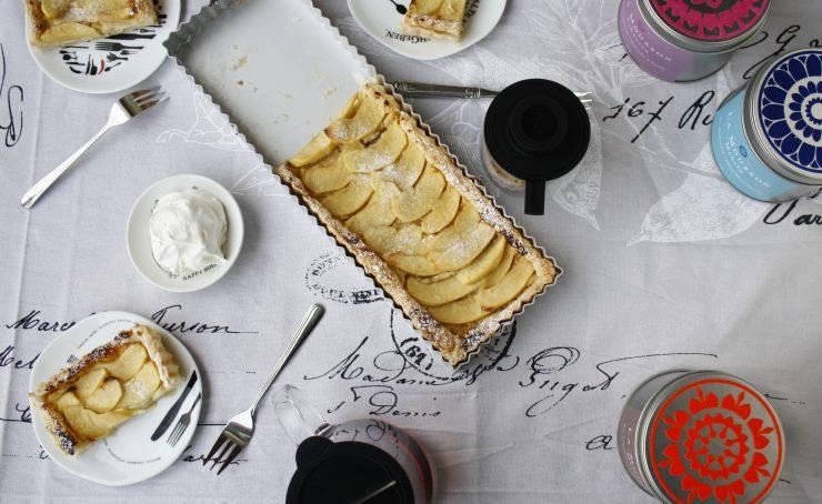 Apfel Tarte / Apple Tarte