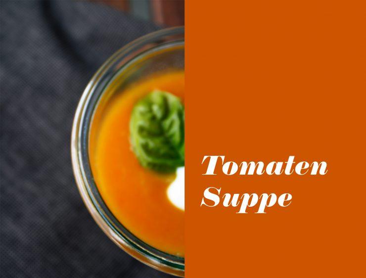 Getrocknete Tomaten Suppe