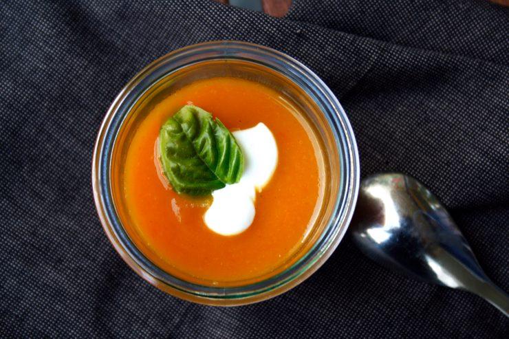 Getrocknete Tomaten Suppe 7