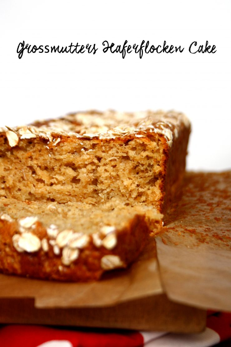 Grossmutters Haferflocken-Cake 1