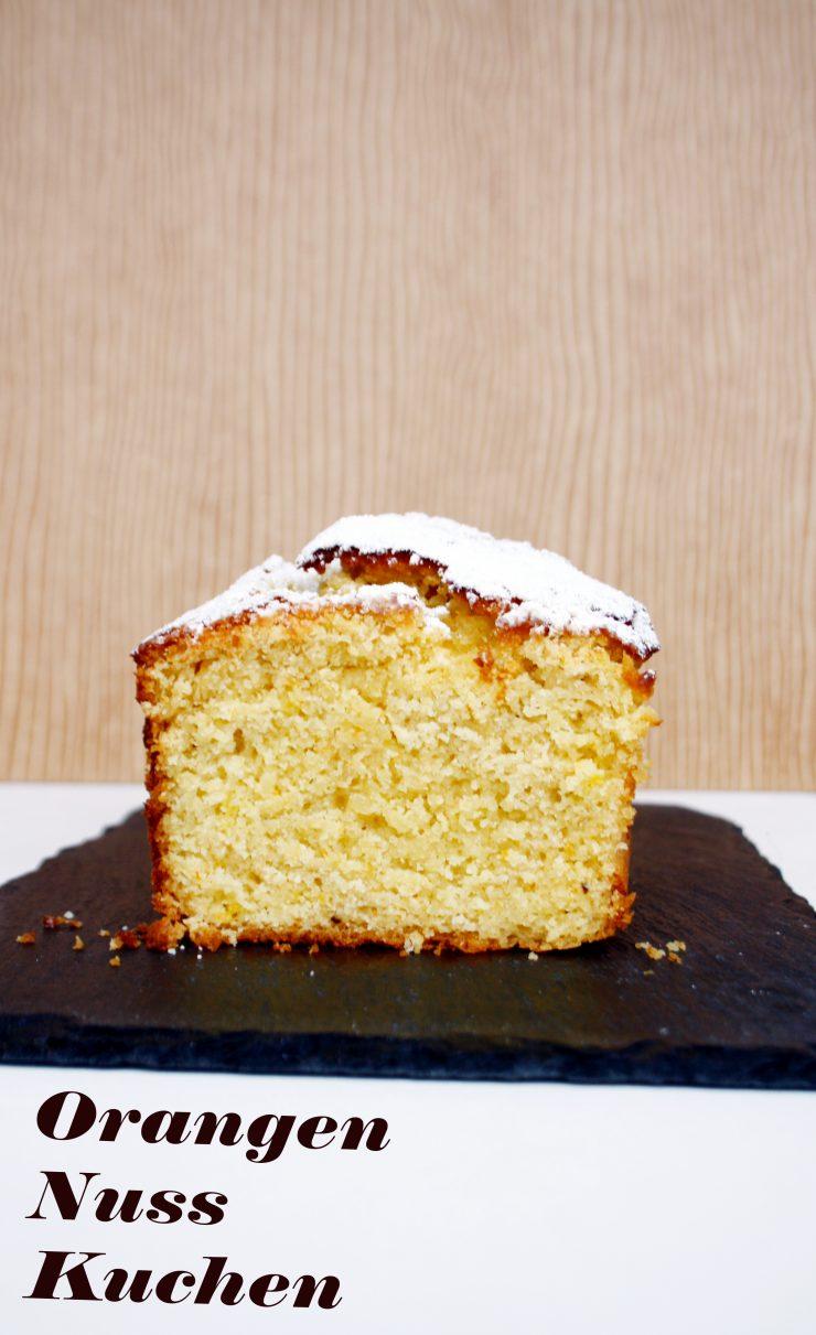 Orangen Nuss Kuchen // Orange Nut Cake by http://babyrockmyday.com/orangen-nuss-kuchen/
