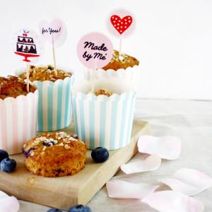 Blaubeer Frühstücks Muffins