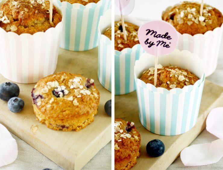 Blaubeer Frühstücks Muffin // Blueberry Breakfast Muffin