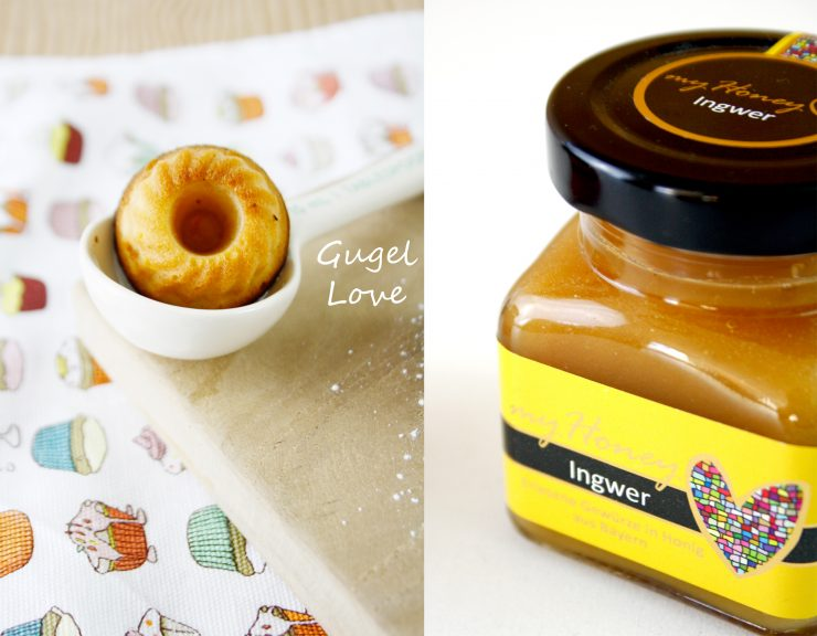 Griechische Honig Mini Gugel // Mini bundt cakel with honey