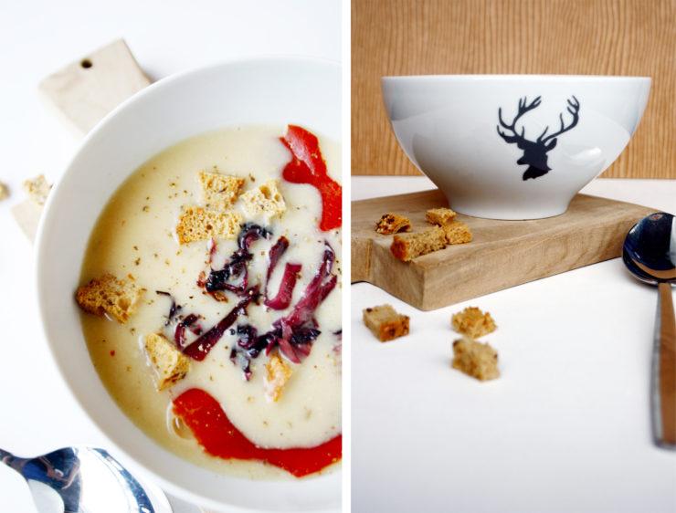 Perfekt für kalte Tage, die Appenzeller Käse Suppe // Cheese Soup by http://babyrockmyday.com/appenzeller-kaese-suppe/