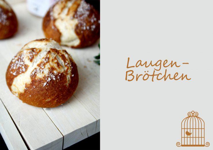 Laugenbrötchen // Pretzel Rolls