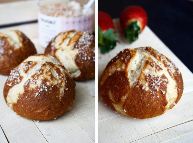 Laugenbrötchen // Pretezel rolls