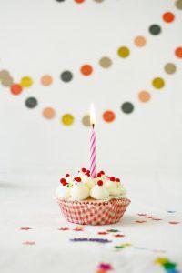 Geburtstags Cupcakes