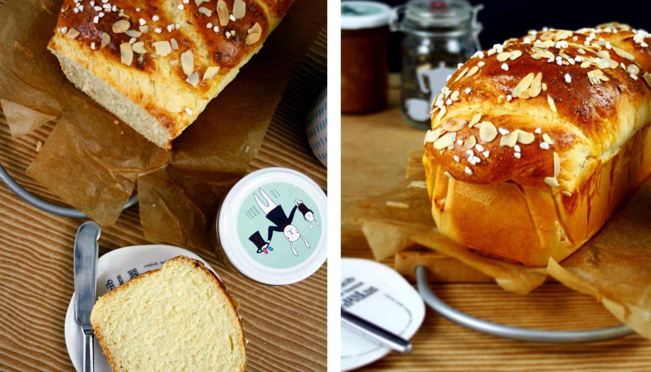 Frühstücks Brioche // Yeast Bread zu finden bei http://babyrockmyday.com/fruehstuecks-brioche/