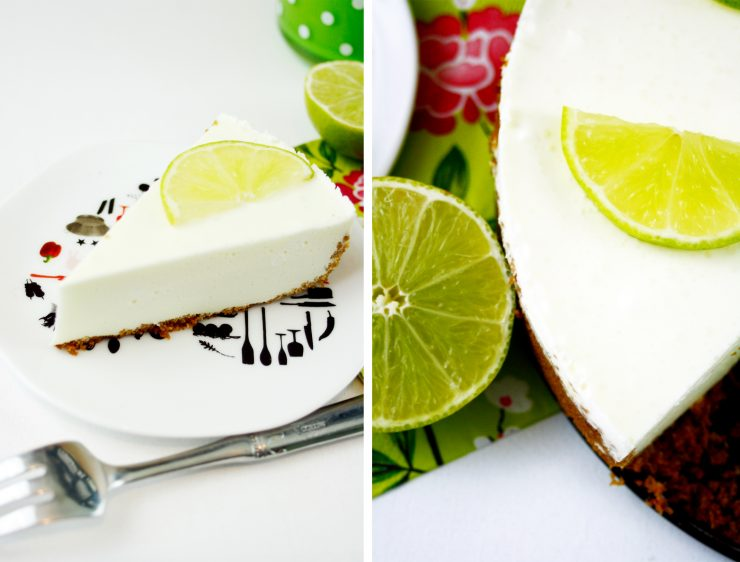 Half Bake Lemon Cheesecake