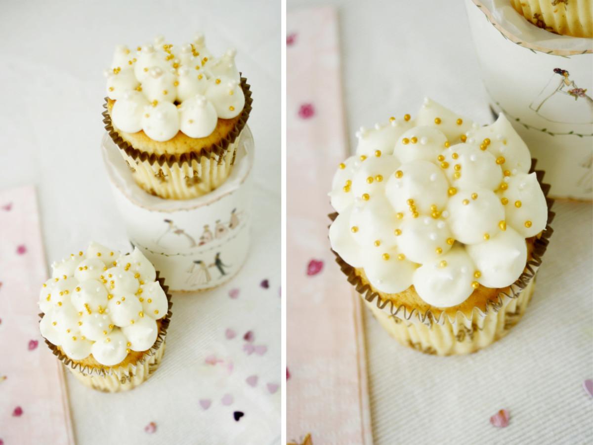 Sweet Table mit Kokos Cupcakes // Cupcakes with coconut by http://babyrockmyday.com/kokos-cupcakes/