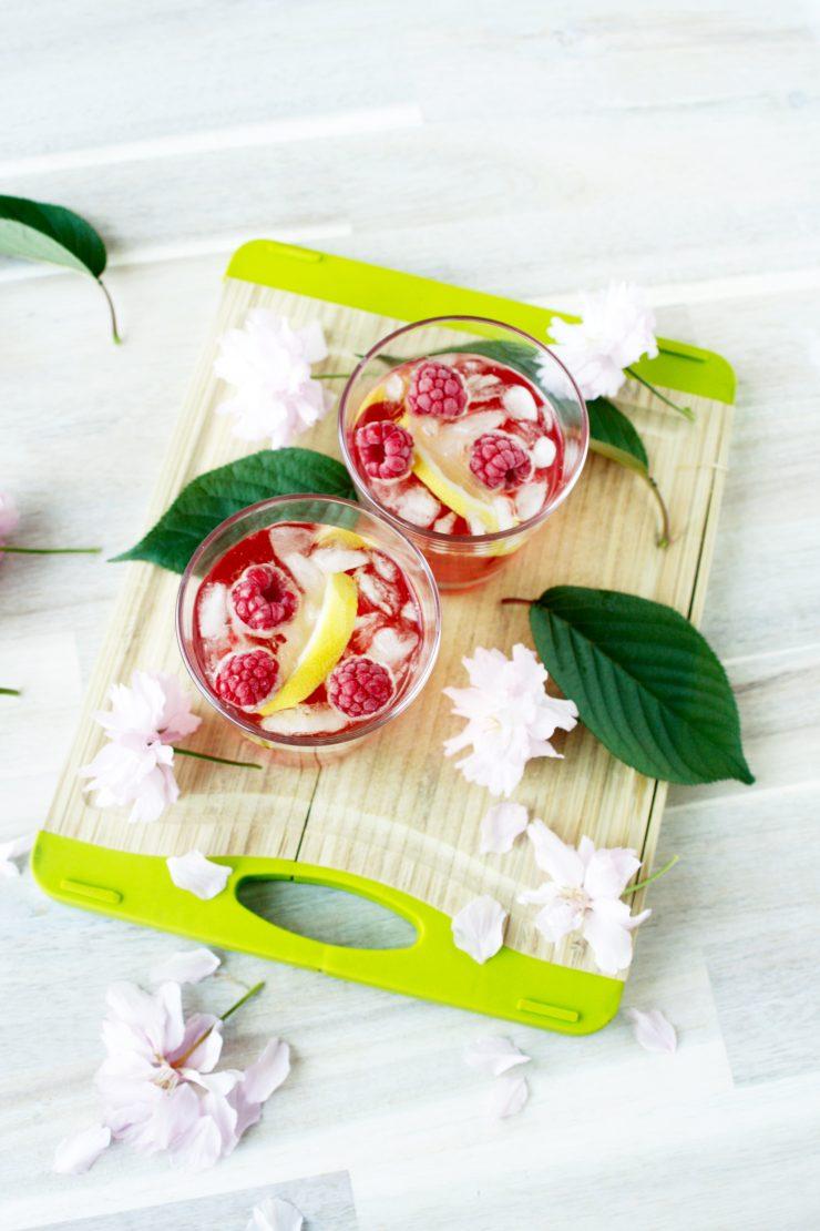 Rhabarber Granatapfel Drink // Rhubarb Pomgranate Drink