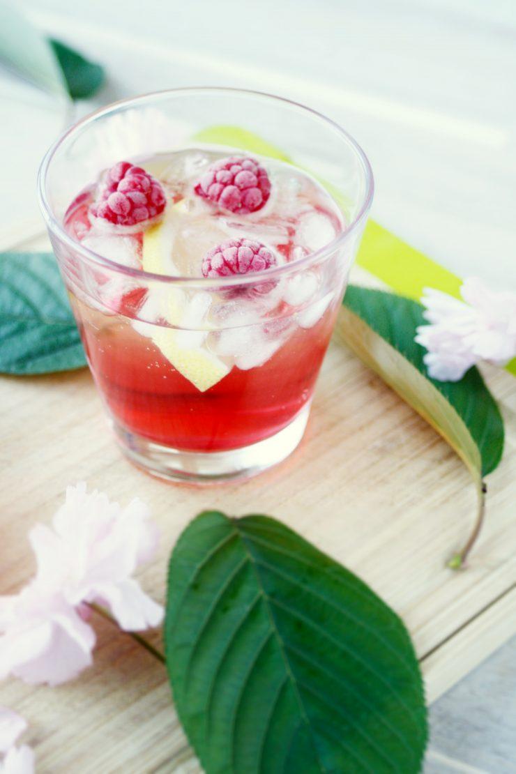 Rhabarber Granatapfel Drink // Rhubarb Pomgranate Drink by http://babyrockmyday.com/rhabarber-granatapfel-drink/