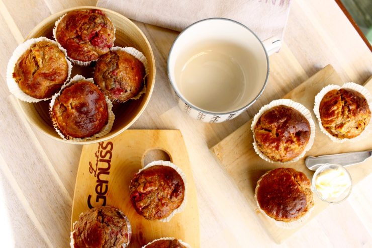 Frühstücksmuffins mit Hirse