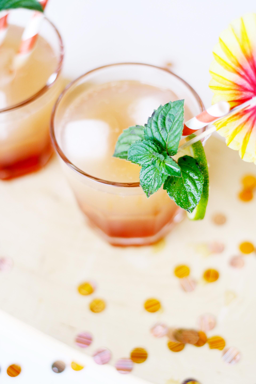 Wodka Sunrise für die Party und Silvester