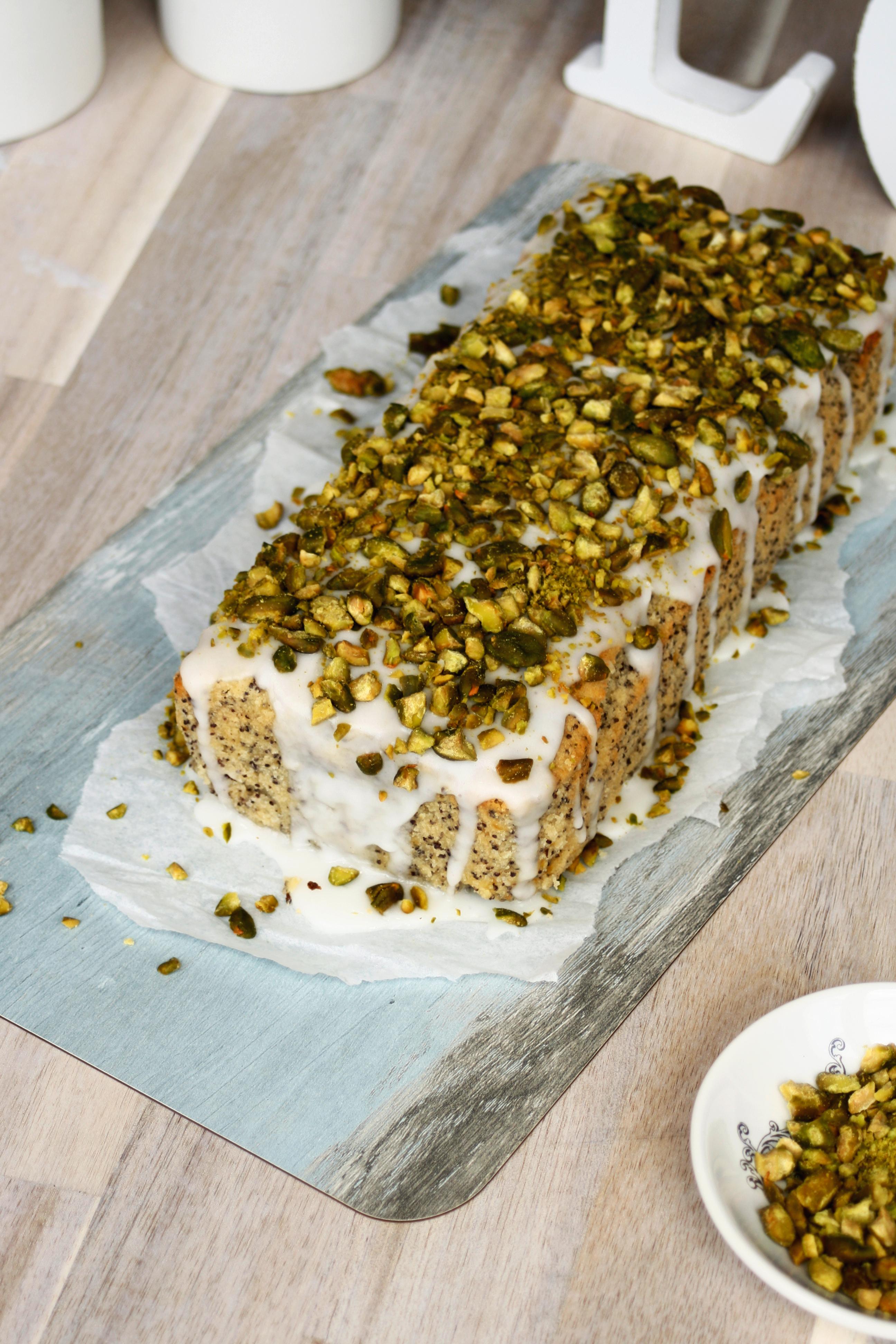 Zitronen Pistazien Kuchen 1