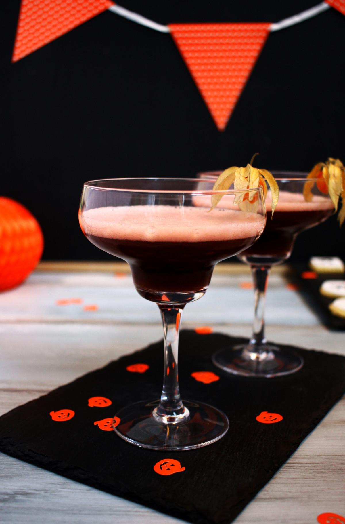 Halloween Granatapfel Drink