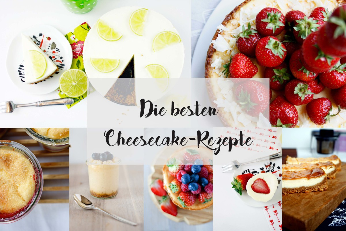 Die besten Cheesecakes und Käsekuchen // The best Cheesecake Recipes by http://babyrockmyday.com/cheesecake-kaesekuchen/